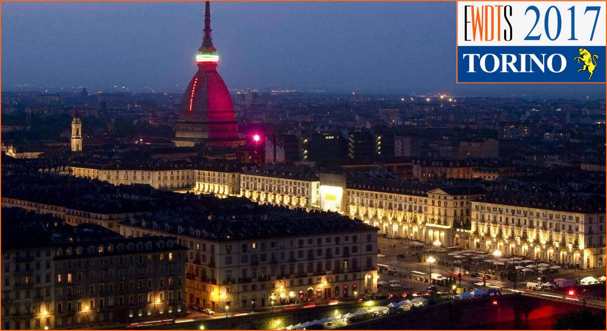 EWDTS 2017, Turin